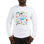 I'm Cooler Than You Because.. Long Sleeve T-Shirt