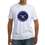 Immigration Minuteman Border Fitted T-Shirt