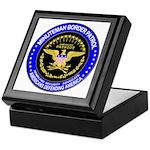 Immigration Minuteman Border Keepsake Box