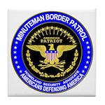 Immigration Minuteman Border Tile Coaster