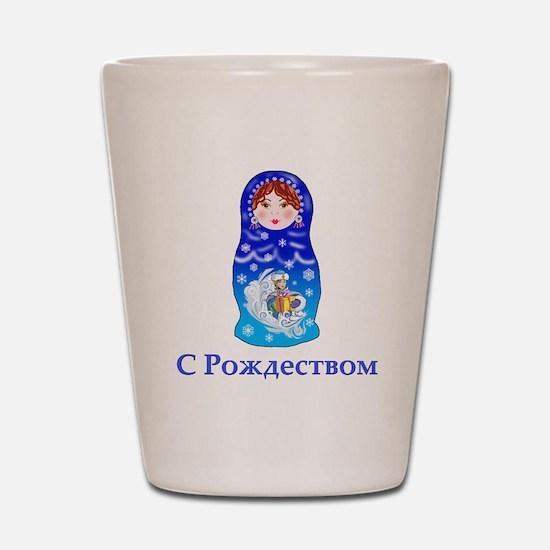Russian Nesting Doll Shot Glass