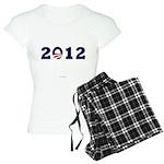 2012 Obama Women's Light Pajamas