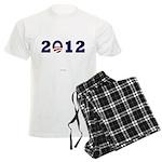 2012 Obama Men's Light Pajamas
