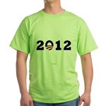 2012 Obama Green T-Shirt