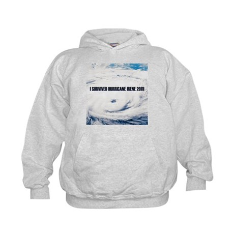 I Survived Hurricane Irene! Kids Hoodie