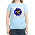 Minuteman Border Patrol Women's Pink T-Shirt