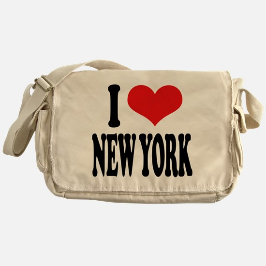 I * New York Messenger Bag