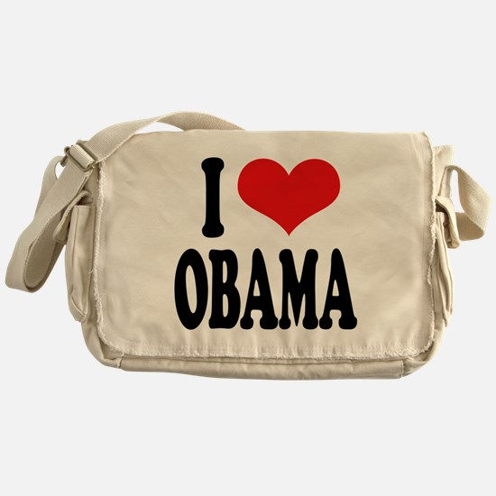 I Love Obama Messenger Bag