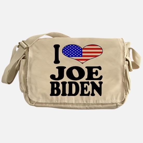 I Love Joe Biden Messenger Bag