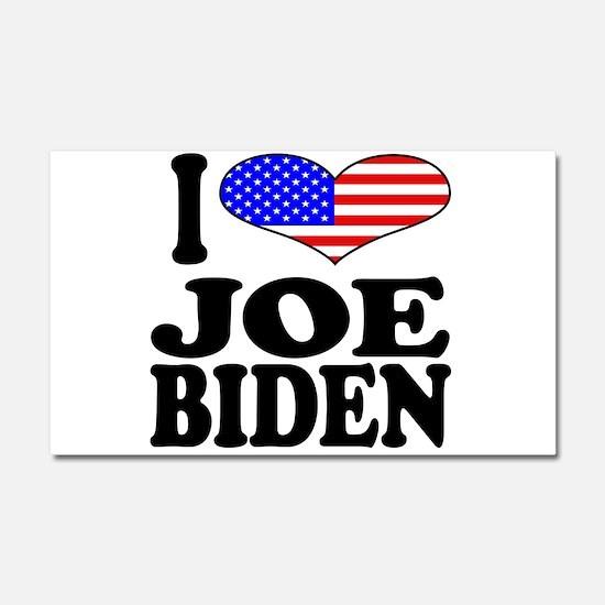 I Love Joe Biden Car Magnet 20 x 12