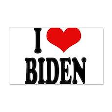 I Love Biden 22x14 Wall Peel