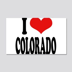 I Love Colorado 22x14 Wall Peel
