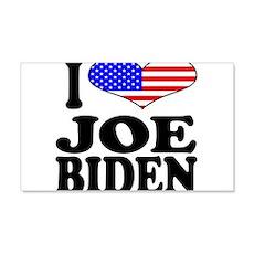 I Love Joe Biden 22x14 Wall Peel