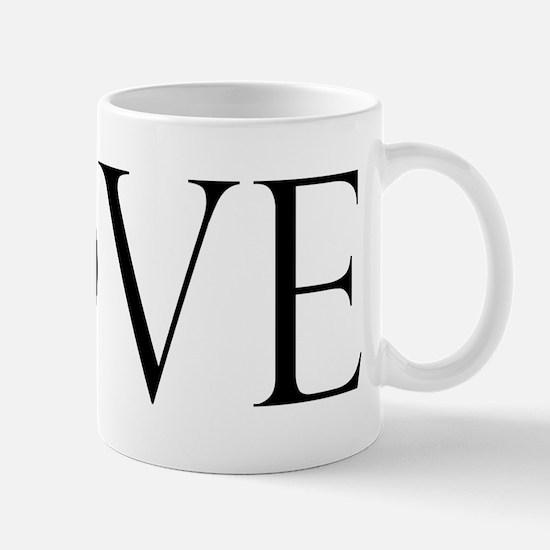 Love Peace Sign Mug