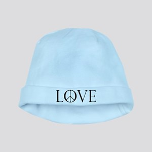 Love Peace Sign baby hat