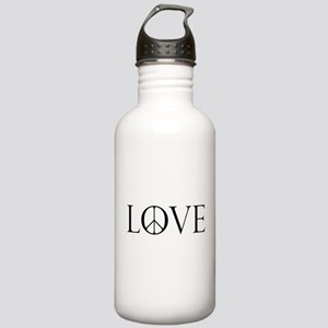 Love Peace Sign Stainless Water Bottle 1.0L