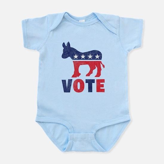 Democrat Vote 2 Infant Bodysuit