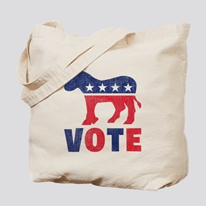 Democrat Vote 2 Tote Bag