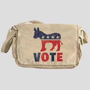 Democrat Vote 2 Messenger Bag