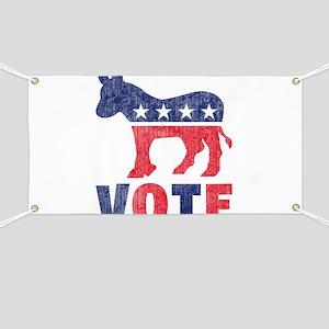 Democrat Vote 2 Banner