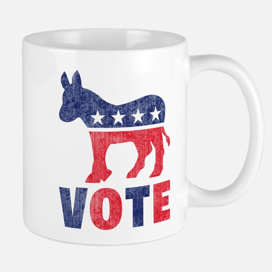 Democrat Vote 2 Mug