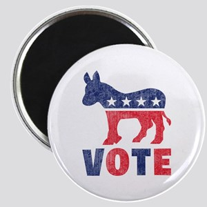 Democrat Vote 2 Magnet