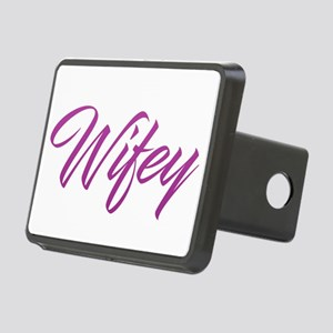 Wifey Rectangular Hitch Cover
