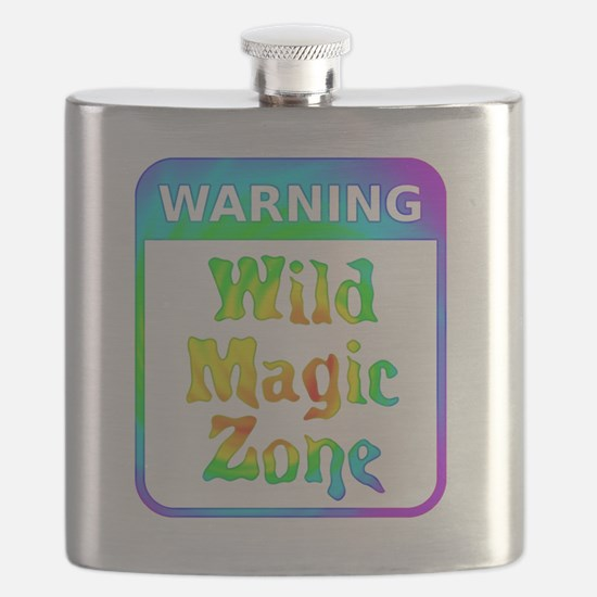 Warning - Wild Magic Zone Flask