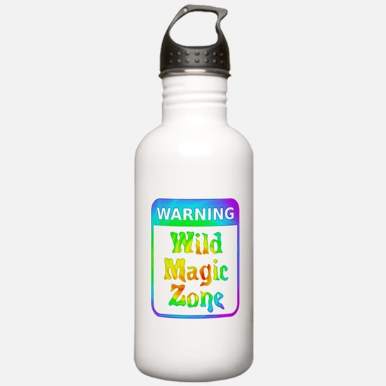 Warning - Wild Magic Z Water Bottle