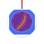 centipede Ornament (Round)