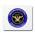 Illegal Immigration Minuteman Mousepad