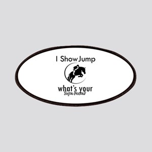 I Show Jump Patches