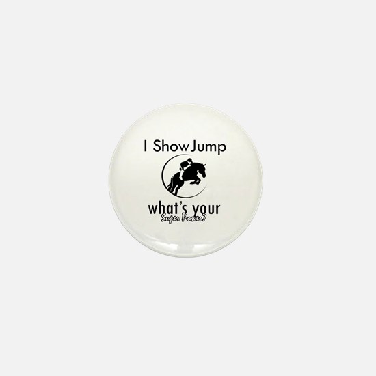 I Show Jump Mini Button