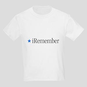 iRemember Memorial Day Kids T-Shirt