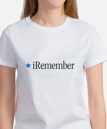 iRemember Iwo Jima Memorial D Women's T-Shirt