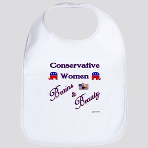 Conservative Women Bib