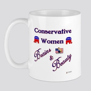 Conservative Women Mug