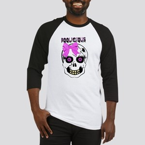 Halloween Girl Scull Baseball Jersey