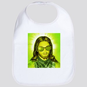 Hipster Jesus Christ Bib