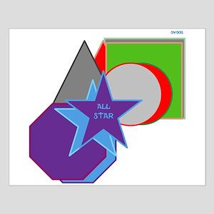 OYOOS AllStar design Small Poster