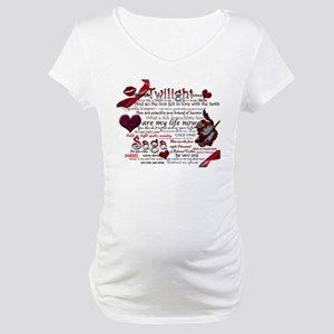Twilight Quotes Maternity T-Shirt