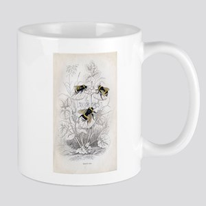 Vintage Bumble Bees Mug
