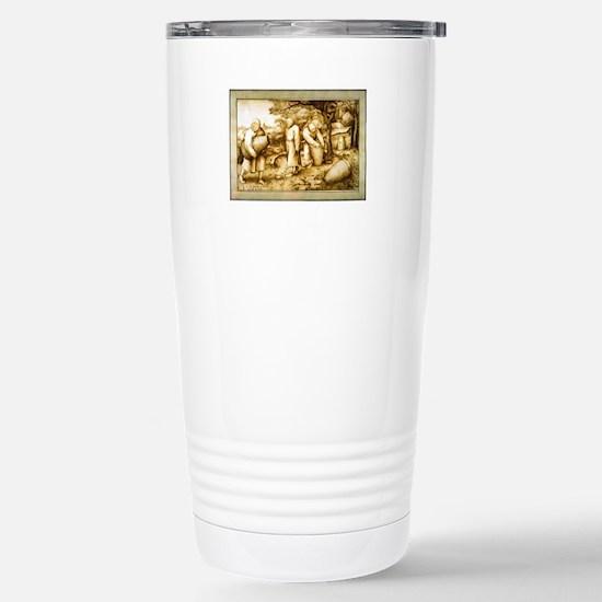 Medieval Beekeepers Stainless Steel Travel Mug
