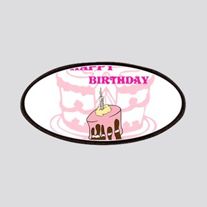 OYOOS Birthday Cake design Patches