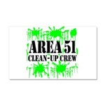 Area 51 Clean-Up Crew Car Magnet 20 x 12
