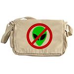 No More Aliens Messenger Bag