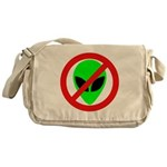 No More Aliens Messenger Bag