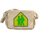 Alien School Xing Messenger Bag