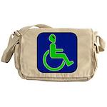 Handicapped Alien Messenger Bag