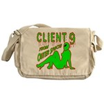 Client 9 From Outer Space Messenger Bag